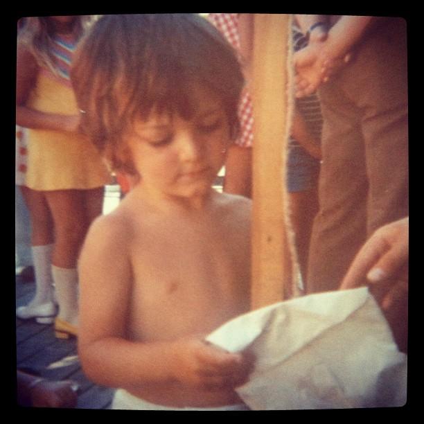 Här får jag diplom :) 40 år sedan :)