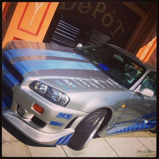 The fast and the furious R34 GTR