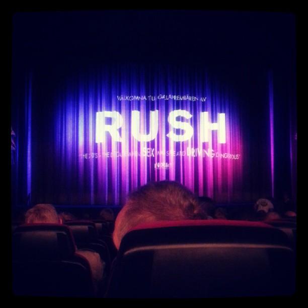 Förhandsvisning Rush med syrran @iamdeniselopez #rush
