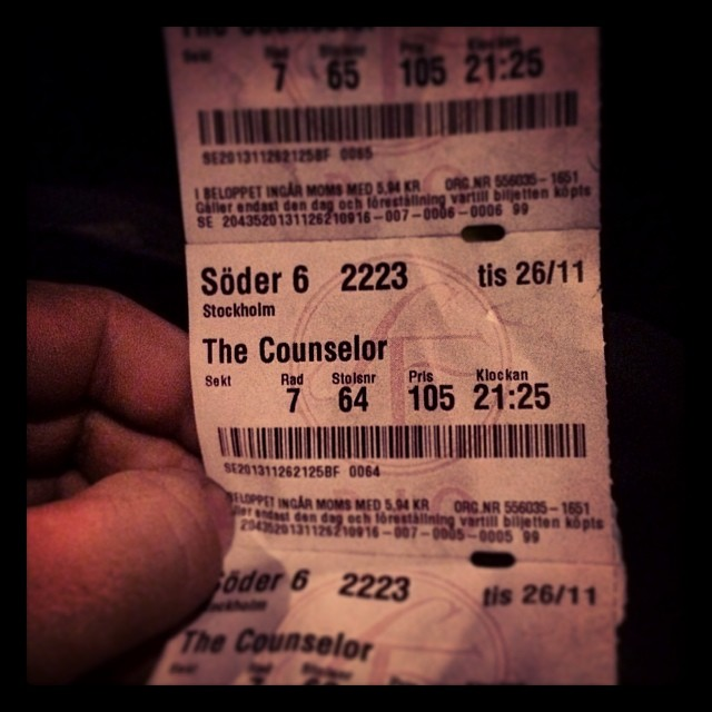 The Counselor #simonkellys #henriksupra #bio #time4fun