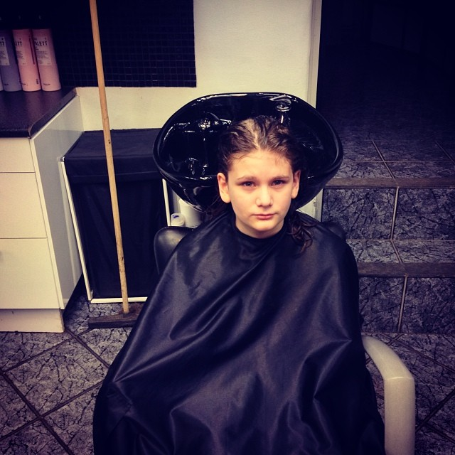 Time For My Sons Haircut :)