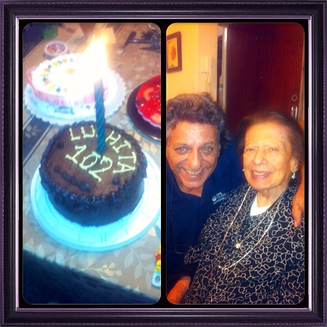Happy Birtday Grandma! 102 Years and going strong!  I miss U