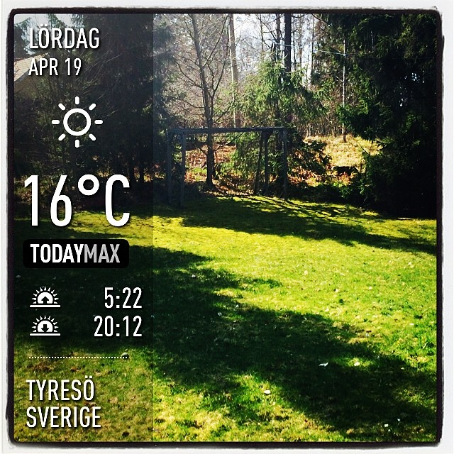 Finally some of that lovely sun.  #fun #cool #life #nice #tyresö #sverige #day #spring #clear #se
