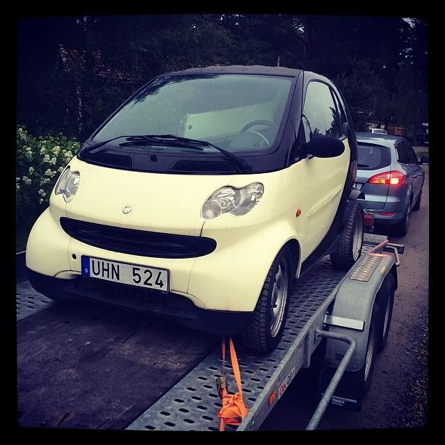 Då har jag hämtat nya bilen!  #smart