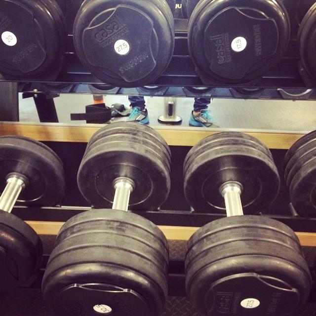 Its Time!! Bytte gym då jag friserade mig innan hos @sthlmhairstylers nyss!!
