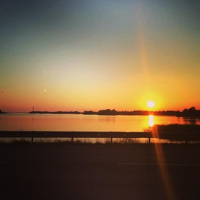Sunset :) in Sweden