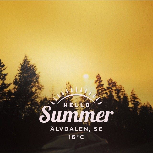 Made with @instaweatherpro Free App! #instaweather #instaweatherpro #weather #wx  #älvdalen #sverige #day #summer #rain #se