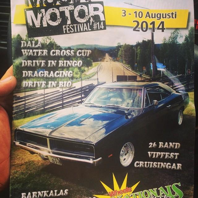 Älvdalen musik och motor!1 vecka om året är vi på vårt landställe. Gör ju inget att det samtidigt är musik och motorfestival då :)
