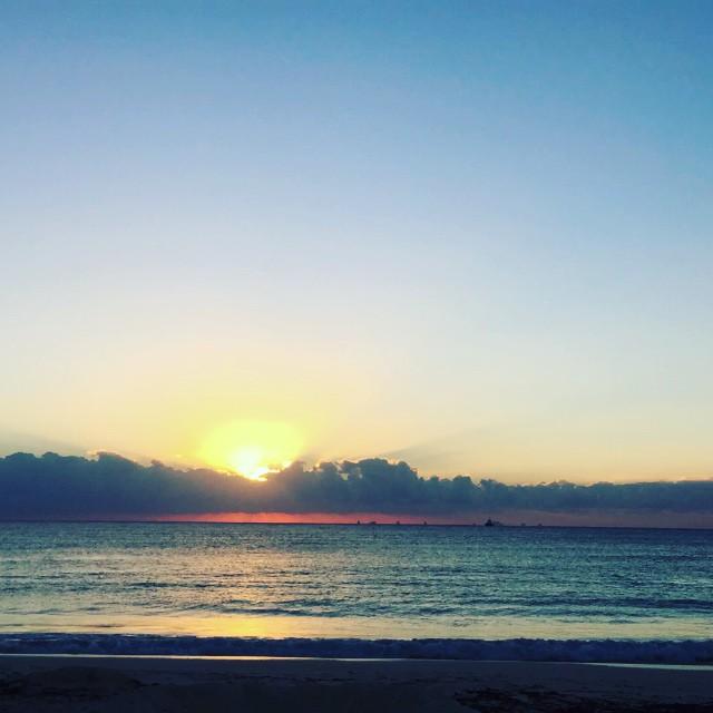 Sunrise , Playa del Carmen