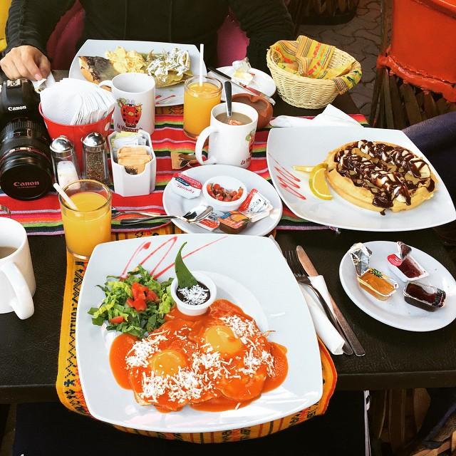 Huevos Rancheros mexican breakfast #rancheros #mexiko
