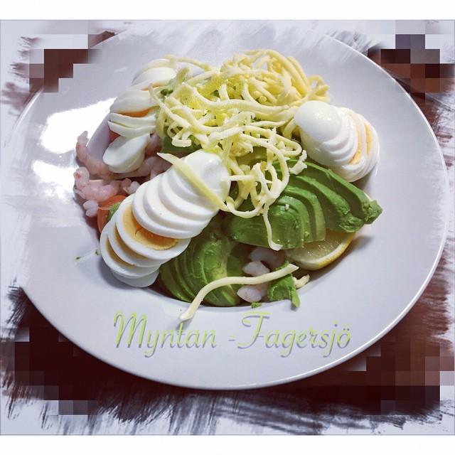 Dags för mat @myntan #myntan #sallad