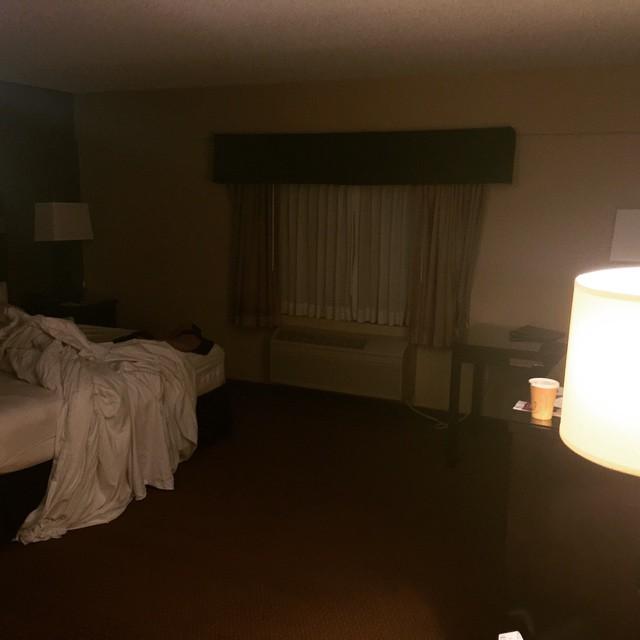 Då lämnar vi hotellet i new York :) mot Cancun (Mexico) @daddas
