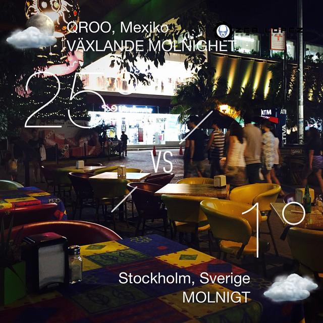 Klockan är nu 22:30, saknar INTE Stockholm #playadelcarmen #qroo #mexiko #night #mx #zeblopez #djzeb #Z€B
