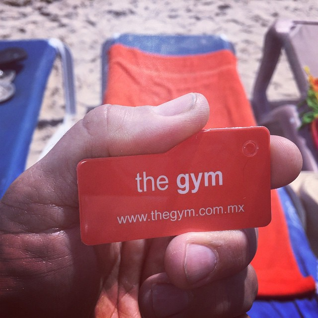 Started The day at The Gym #thegym #playadelcarmen now The Beach arr calling me:)