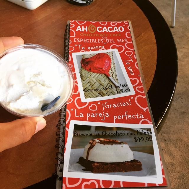 Ah cacao med älskling #ahcacao #playadelcarmen