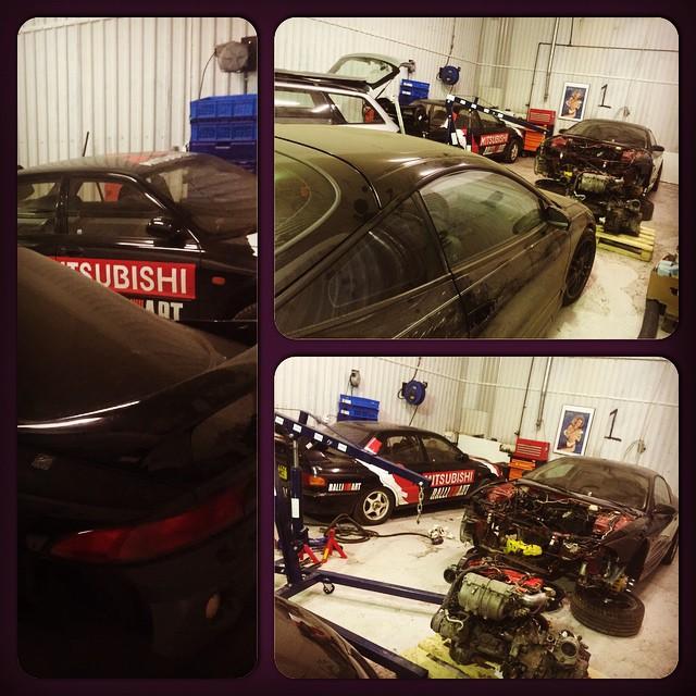3 x AWD Power ! #4g63 #Bullseye #S475 #AEM #DOGBOX #ATI #CARRILLO  #AEROMOTIVE #BILLET #PROSERIES #ZTUNING @ztuningse #rota #gtr #precision #racing