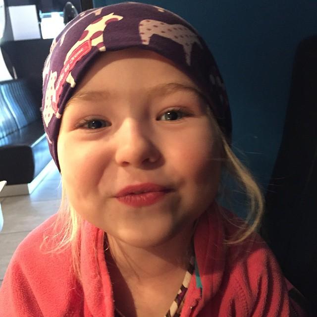 Min fina guddotter :)