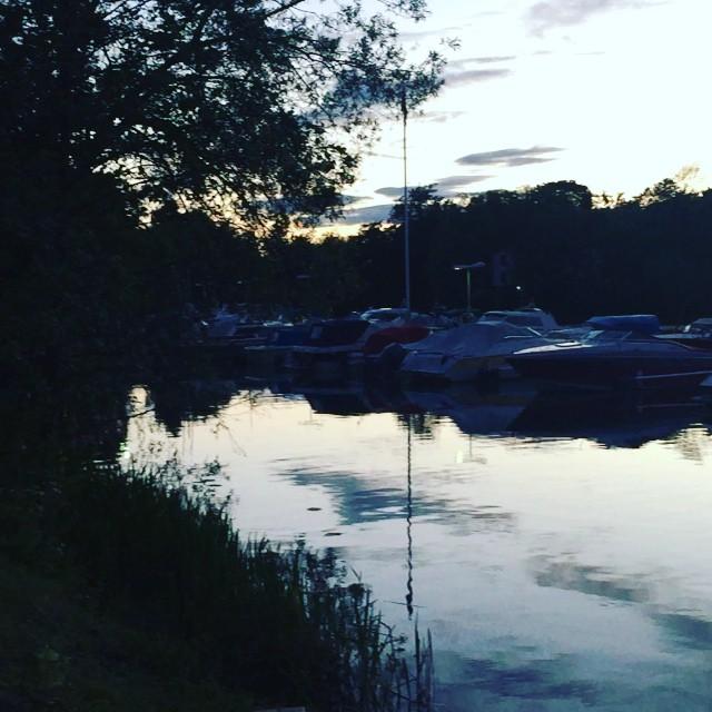 Kvällspromenad med Leon :) #stockholm #västermalm
