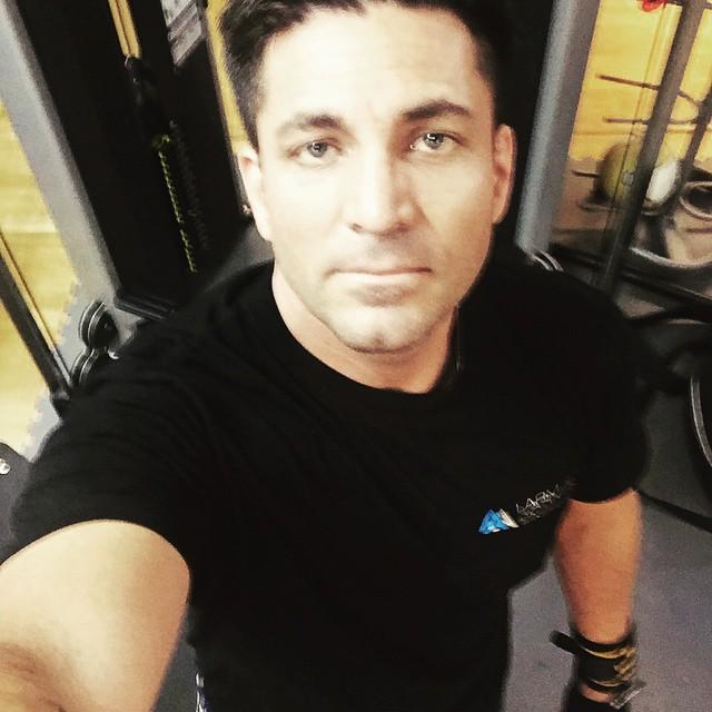 Att starta på gymet kl 05 va ingen dum idé , just saying :) bra att komma på det i min ålder också :) men det är väl aldrig försent :) #gym #workout #fitness