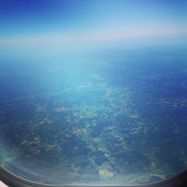 Up in The air :)