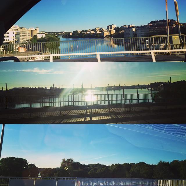 Stockholm kan vara vackert ..