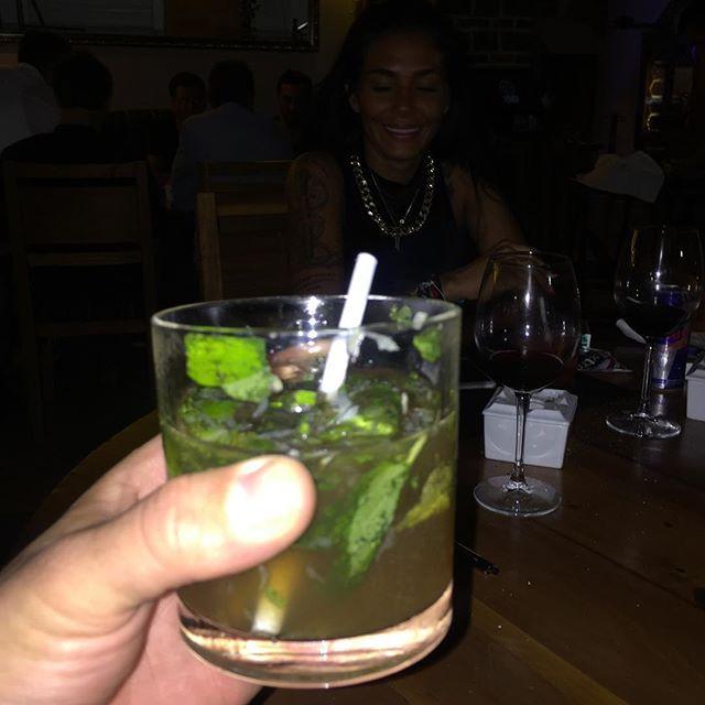 Im healthy .. Grönsaker är viktigt även i drinken :)