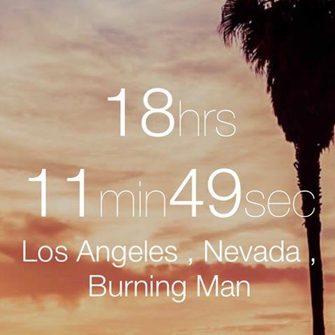 Less Than 20 hours, i Cant wait! . #losangeles #friends #family #community #music #dj #playa #burningman #nevada #zeb #deephouse  #techhouse #techno #mnml #art #living #life #fitness #dessert