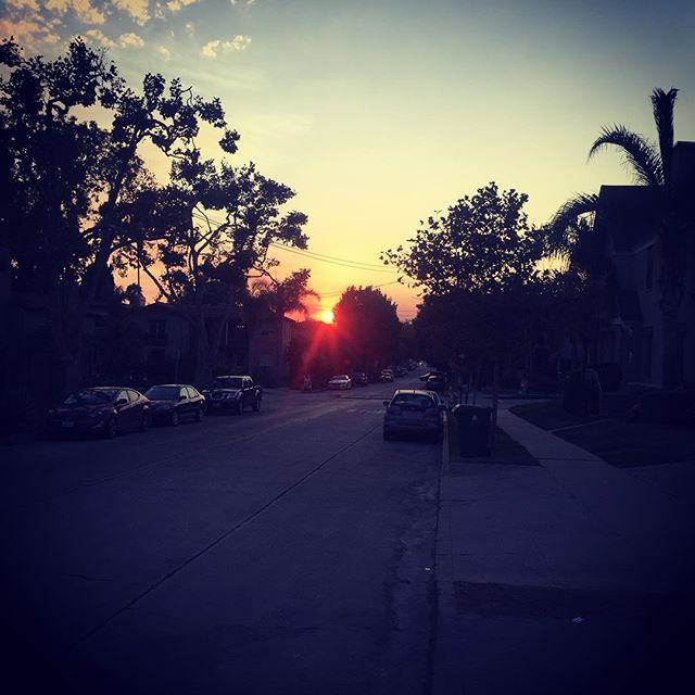 Yesterdays sunset #sunset #losangeles #preburningman
