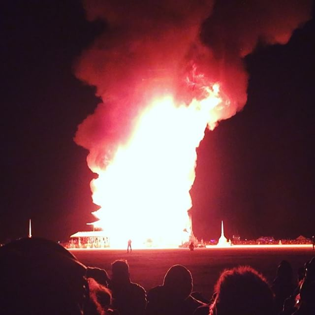 TempelBurn #burningman #templeburn #2k16 #temple #bm #nevada #music #festival #art