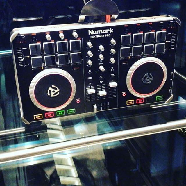 Elevator DJ gear :) haha!