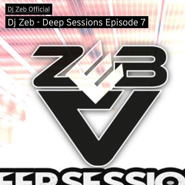 DeepSessions episode 7 is out! On SoundCloud and ITunes ! #deephouse #deepsessions #podcast #djmix #mixtape #djzebofficial #djzeb #soundcloud