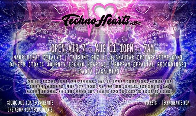 ITechno :) Im spinning techno this Friday aug 11 at TechnoHearts Open Air part 7 @djzebofficial @technohearts #djzebofficial #djlifestyles #djzeb #techno #techhouse #openair #openairparty #outdoorevents #music #uv #lasershow #pioneerdj www.technohearts.com