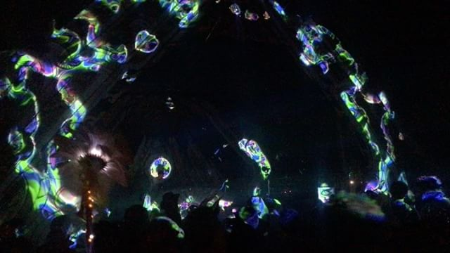 Eclipse : Oregon  @djzebofficial #life #festivals #djzebofficial #djzeb #portland #usa #events #projectionlaser