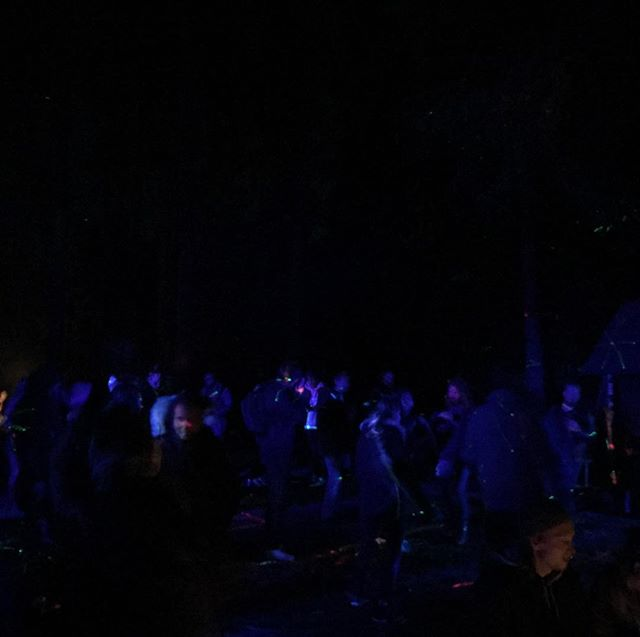 4 Hours before i get on the Decks  on the Technostage @ Fundamental . Party in the Woods with Two stages: techno and psy