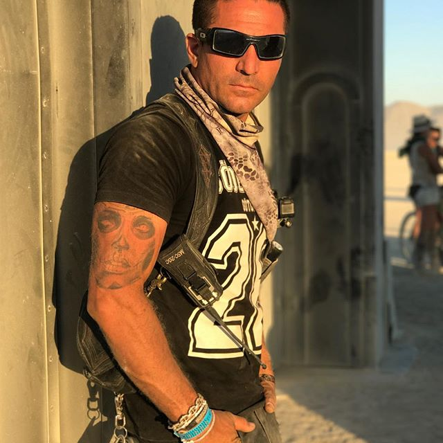 Me  Burning Man , Nevada , USA