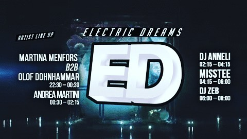 DJing Techno in Gothenburg Tonight. Nov 25.  See you there  Techno-set @ Electric Dreams,  Gothenburg  Members only - Sign-up first: http://eepurl.com/cwE5AP  Then see more info here: https://m.facebook.com/events/  @djzebofficial