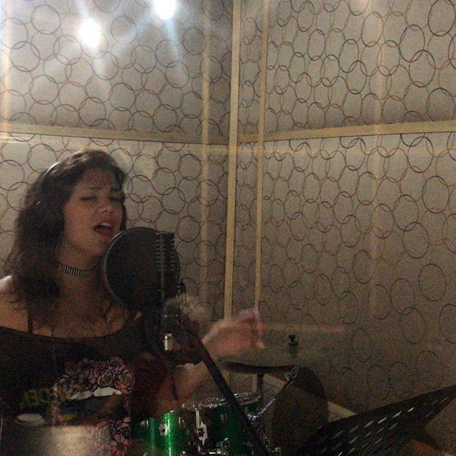 Recording vocals with @renatoplaya   @technohearts @technohearts_records