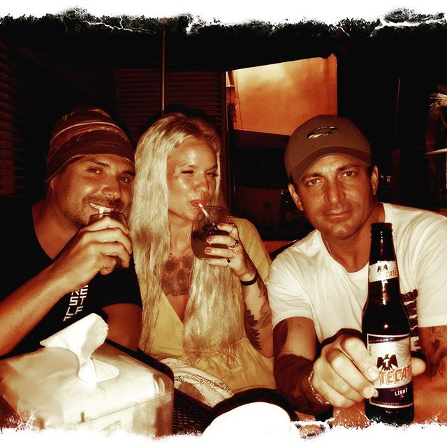 Out with My friends from stockholm @jennamalinyoga @djzebofficial